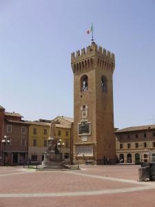 Recanati, Torre del Borgo