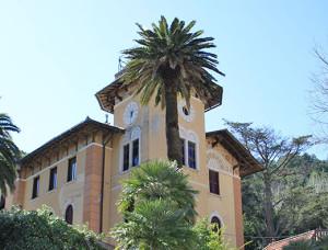 monterosso, la casa delle due palme di montale