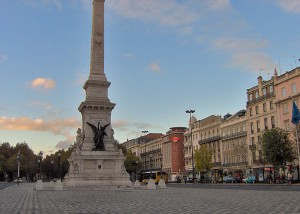 La Lisbona di Tabucchi - Avenida da liberdade