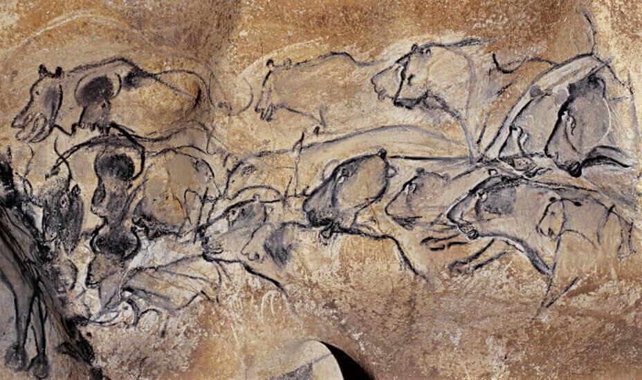 Colore Parete Gialla : Grotta chauvet le pitture più antiche viaggio in baule