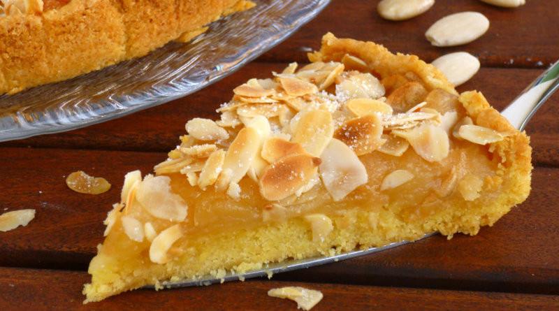 crostata di mele e mandorle cremosa