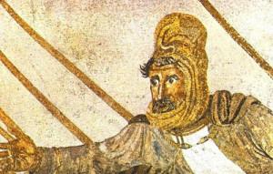 mosaico della Battaglia di Alessandro Magno