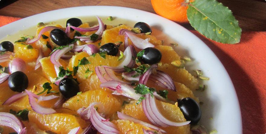 insalata arance e olive