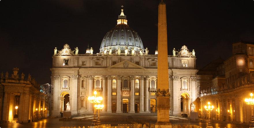 La Basilica di San Pietro in Vaticano, Roma