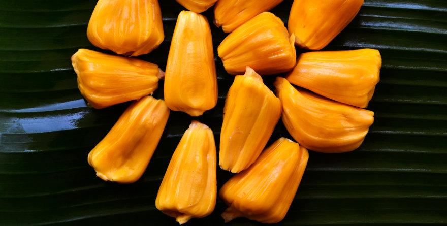 riso viola al jackfruit