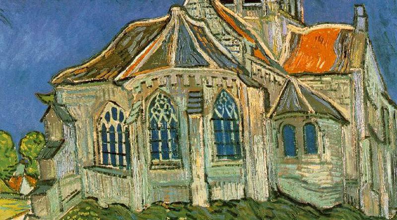 Van gogh la chiesa di auvers sur oise descrizione for La citta con il museo van gogh