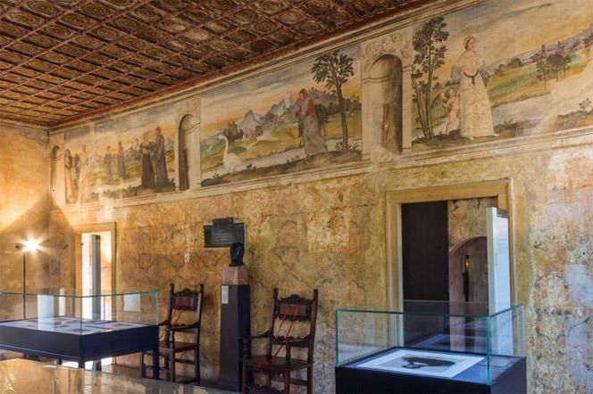 La casa di Petrarca ad Arquà (Padova)