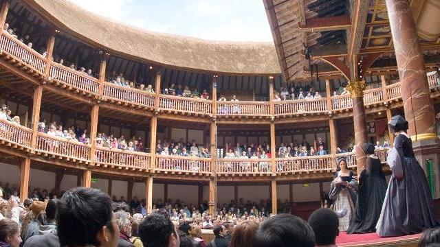 Shakespeare's Globe Theatre, interno