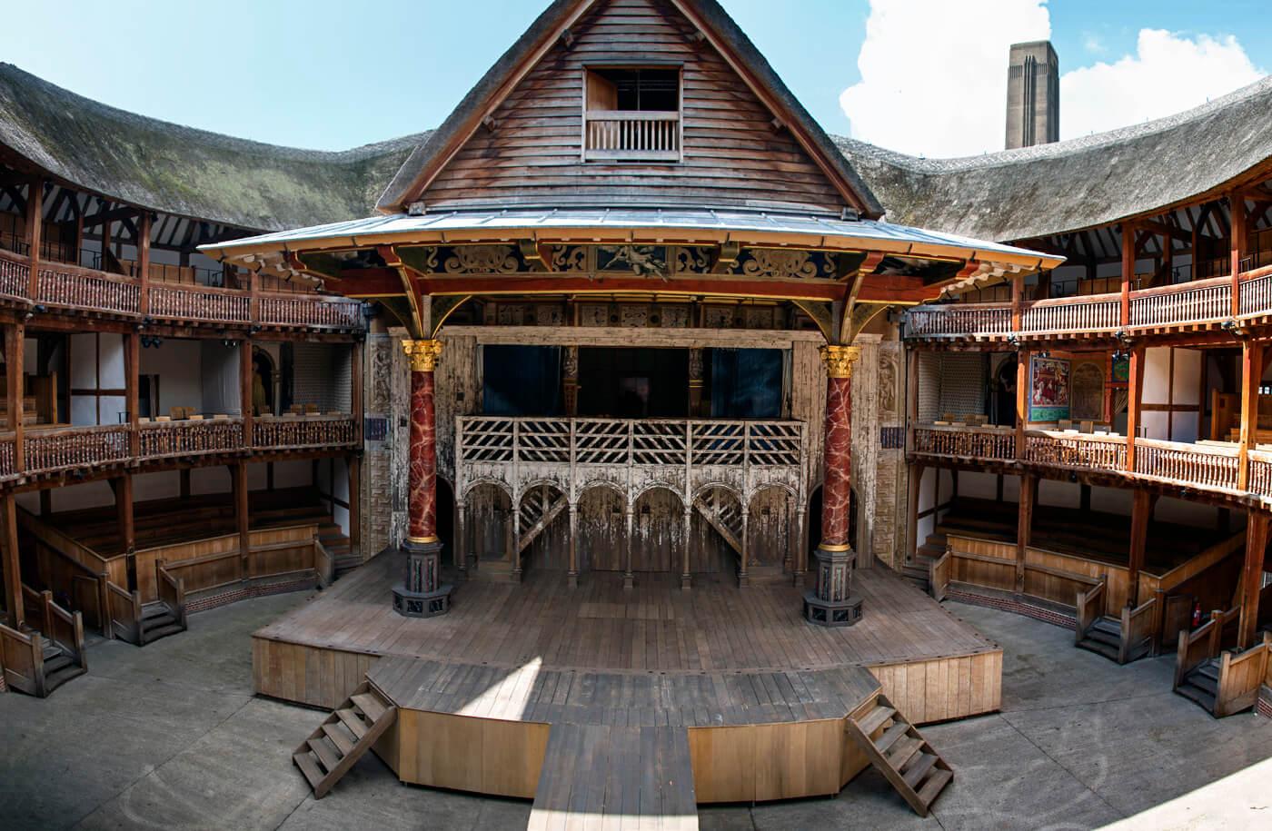Shakespeare's Globe di Londra, interno