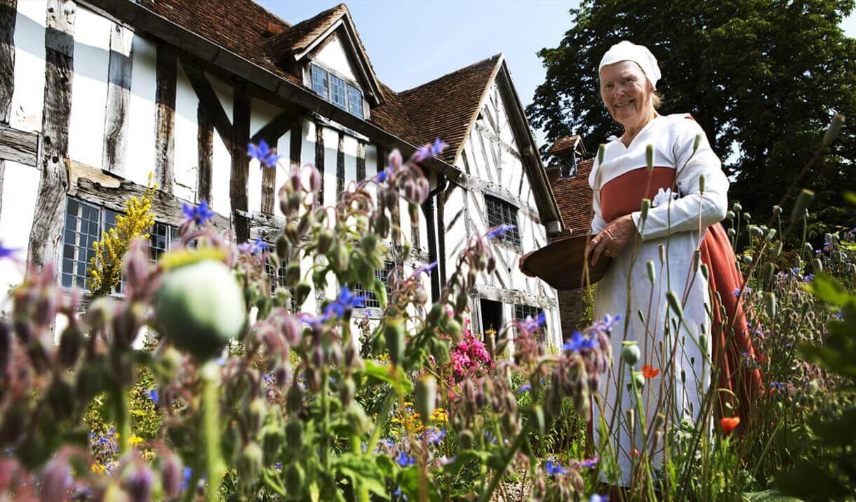 La casa di campagna di Mary Arden, madre di Shakespeare