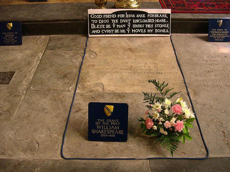 Tomba di William Shakespeare