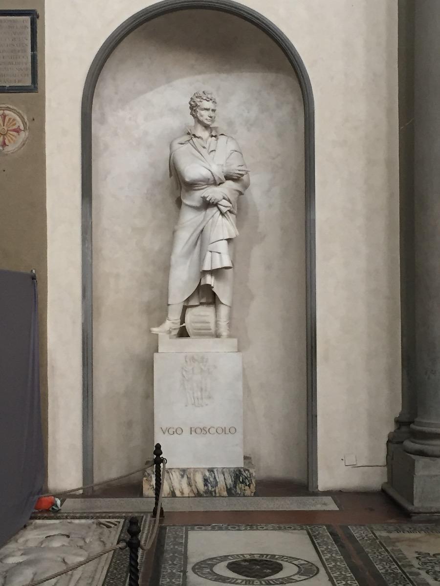 Antonio Berti, Monumento a Ugo Foscolo, 1935-37, Firenze, Santa Croce