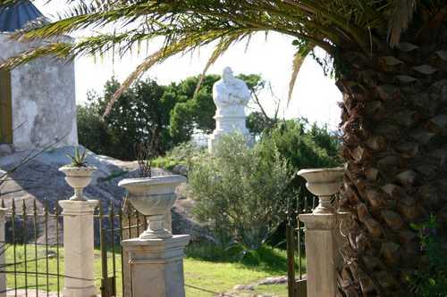 Compendio garibaldino: busto marmoreo di Giuseppe Garibaldi