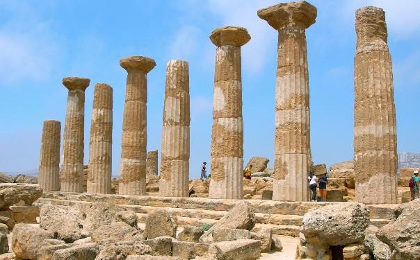 Tempio di Ercole nella Valle dei Templi