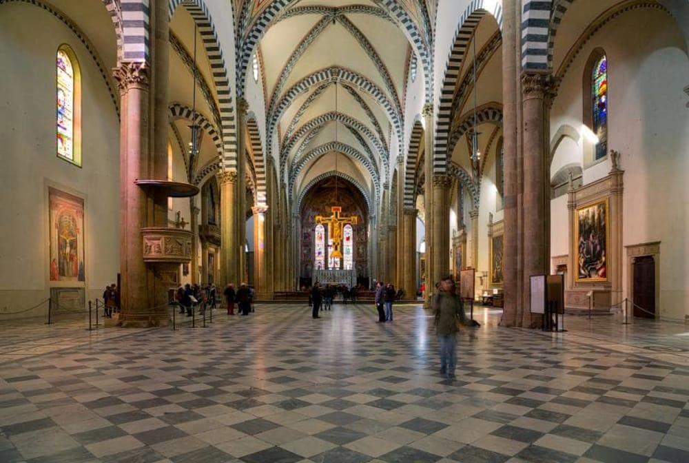 Santa Maria Novella a Firenze, l'interno
