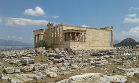 Eretteo, 421-406 a.C., acropoli di Atene