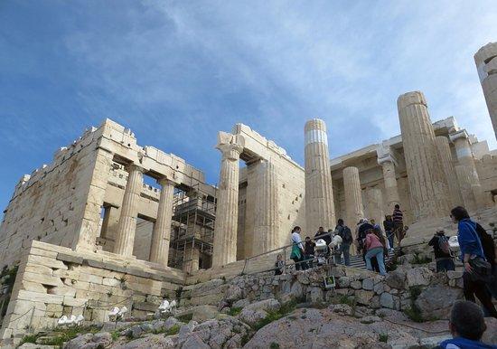 Propilei, 437-432 a.C. Acropoli di Atene