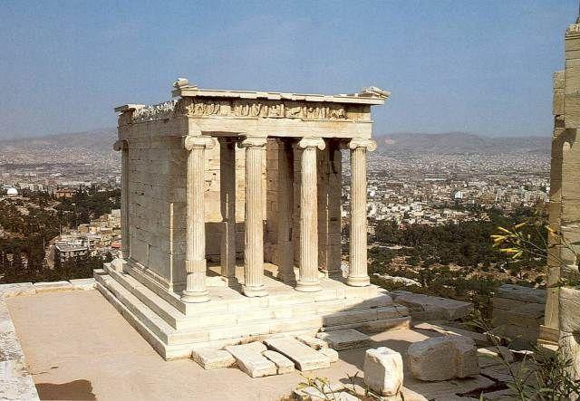 Tempietto di Atena Nike, 449-421 a.C. ca. Acropoli di Atene