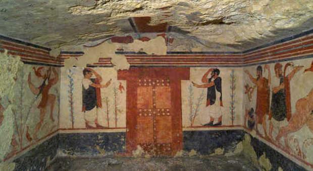 Tomba degli àuguri di Tarquinia