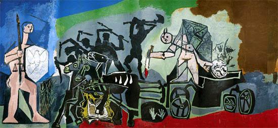 Pablo Picasso, La guerra, 1952