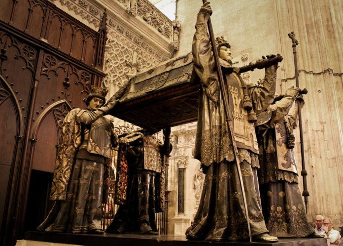 Tomba di Cristoforo Colombo, Cattedrale di Siviglia